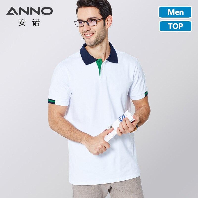 ANNO White Nurse Dress Top Fashion Leisure Polo Shirt Lapel Collar Work Uniform Medical Elasticity Summer Medical Scrubs