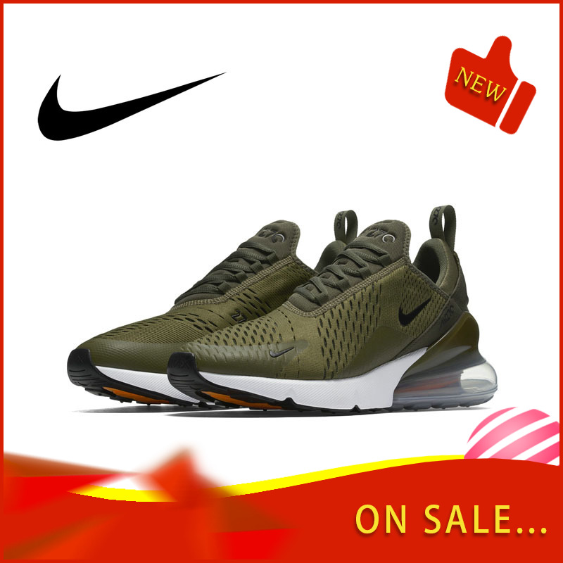 Original Authentic Nike Air Max 270 Men's Running Shoes Breathable Outdoor Sports Shoes Comfortable And Good Quality AH8050-201