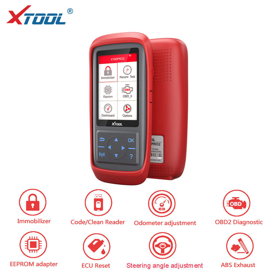 [XTOOL Distribuidor] Xtool X100 PRO Auto Programador Chave X100 + Versão Atualizada com EEPROM Adaptador TRANSPORTE RÁPIDO