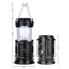 5 Вт Кемпинг Светильник Открытый Солнечный светодиодный лампы