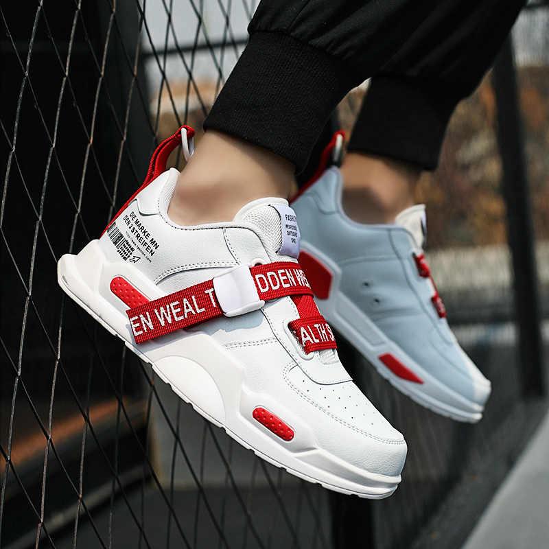 2019 Zomer Mannen Schoenen Ademend Lichtgewicht Mesh Loopschoenen Comfortabele Platte Mannelijke Casual Schoenen Mannen Mode Sneakers Hot Koop