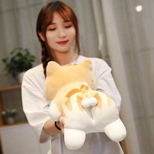 40/100cm Soft Animal Cartoon Pillow Cushion Cute Sexy egg Cat Plush Toy Stuffed Lovely kids Birthyday Gift