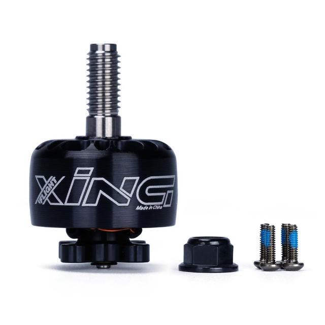 IFlight XING X1507 1507 2800KV 3600KV 4200KV 2 6S FPV NextGen Unibell moteur avec arbre en alliage de titane 5mm pour drone de course FPV