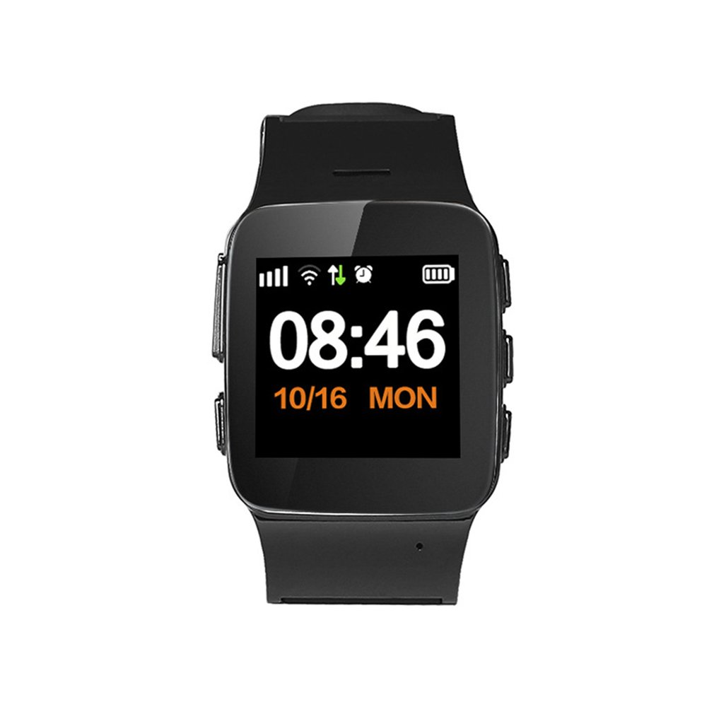 Tüketici Elektroniği'ten Akıllı Saatler'de D99/D99 + yaşlı GPS Wifi izci SOS spor kol saati güvenlik anti kayıp bulucu izle IOS Android için kordon akıllı saat 2019 title=