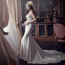 Beach Wedding Dress 2017 White and Lvory SoDigne Actual Images A Line Sweetheart trajes De Novia La Boda Bridal Gown