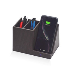 Pen Holder Qi Wireless Charger Stand For iPhone XS Max XR 8 Plus Samsung S10 S9 Note9 Xiaomi 10W Without Wire Induction Charger