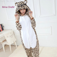 Kigurumi Leopard  Animal  onesies Pajamas Cartoon costume cosplay Pyjamas Adult Onesies  party dress  Halloween pijamas kigurumi leopard animal onesies pajamas cartoon costume cosplay pyjamas adult onesies party dress halloween pijamas