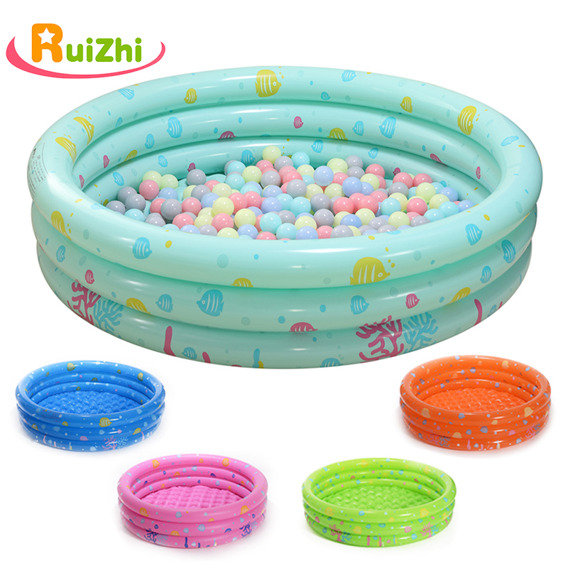 Ruizhi Children Round Swimming Pool Play Tent Inflatable Pool Ocean Ball Pool Pit Indoor Outdoor Folding Bath Kids Toys RZ1095-in Ball Pits from Toys & Hobbies