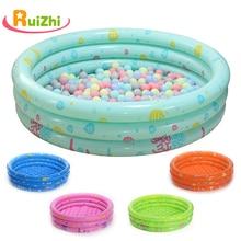 Ruizhi الأطفال جولة حمام سباحة لعب خيمة حوض سباحة قابل للنفخ كرة أوشن بركة حفرة داخلي في الهواء الطلق للطي حمام أطفال اللعب RZ1095