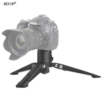 """BEXIN ST-2 Universal Mini Three Feet with stabilizers photography monopod accessories base Monopod Stand  3/8"""" Screw"""