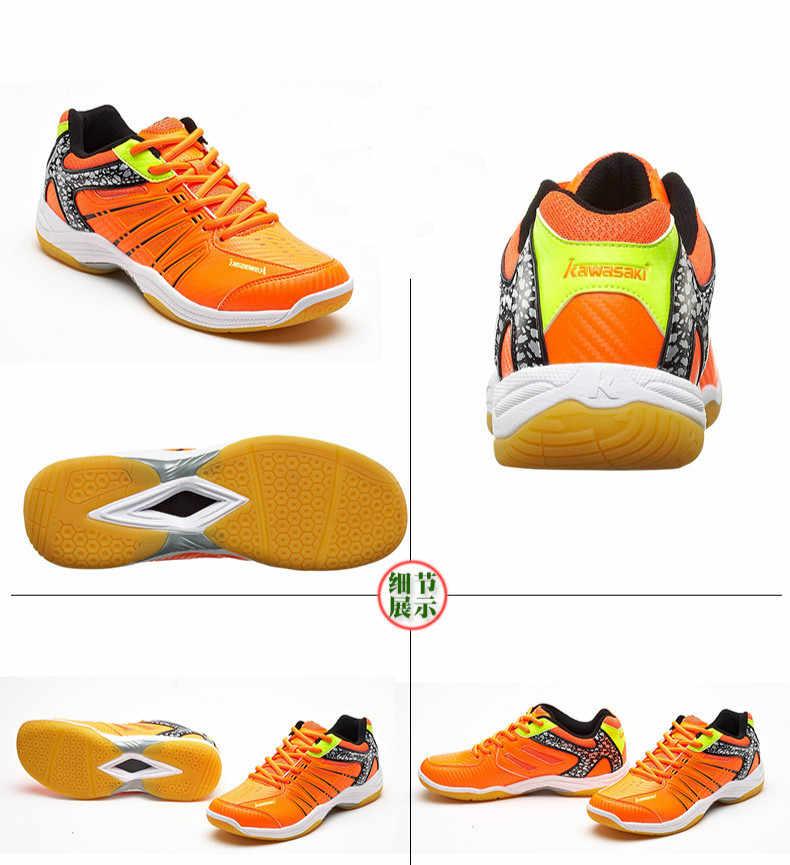 Original Kawasaki Badminton Schuhe Menwomen Badminton Training Schuhe Wirbelwind Serie Sport Turnschuhe