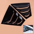 Beler ABS 2 шт. глянцевые черные боковые вентиляционные оконные накладки обшивки жалюзи подходят для Nissan Teana Altima 2019