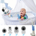 Универсальный гибкий держатель для видеоняни и видеоняни IMPORX, держатель для телефона, держатель для детской камеры 75 см/85 см/95 см