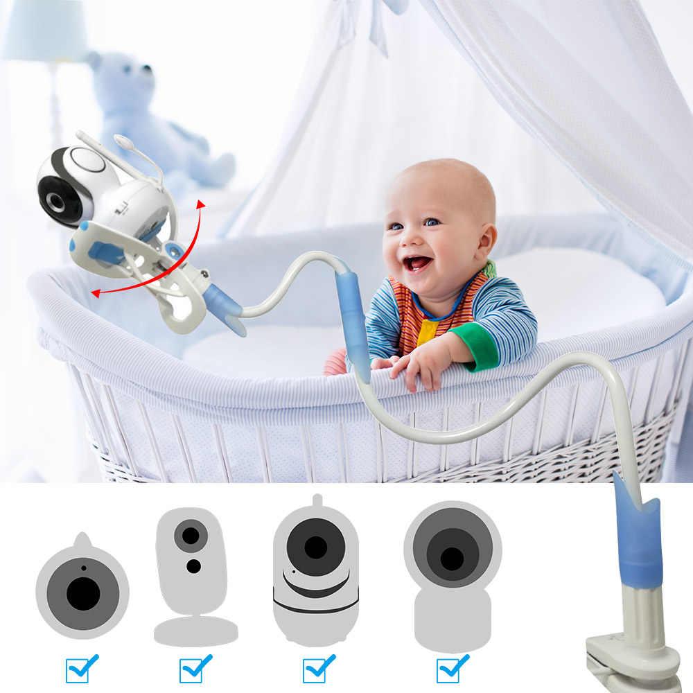 IMPORX universel Flexible bébé moniteur vidéo caméra support de montage support pour téléphone paresseux support étagère pour bébé caméra 75 CM/85 CM/95 CM