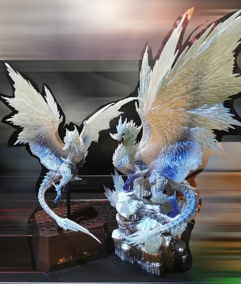 Monster Hunter World Iceborne DLC PVC Models Velkhana Hot Dragon CFB Action Figure Decoration Toy Monsters Collection Gifts