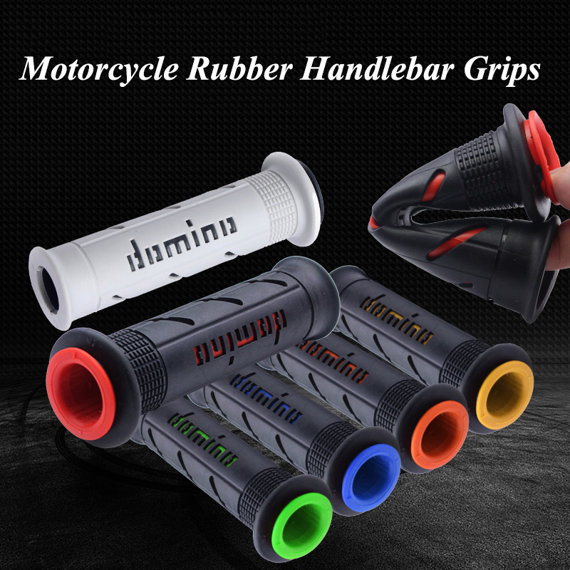 Motorbike Rubber Handle Bar Accessories Motorcycle Handlebar Grip Motocross Parts 24mm 22mm For Domino Yamha Honda Suziki Ducati