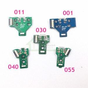 Image 2 - 50 個 JDM 011 JDM 001 JDM 030 JDM 040 JDM 055 充電ボードの交換ソニーのプレイステーション 4 PS4 コントローラ led ボードの修理