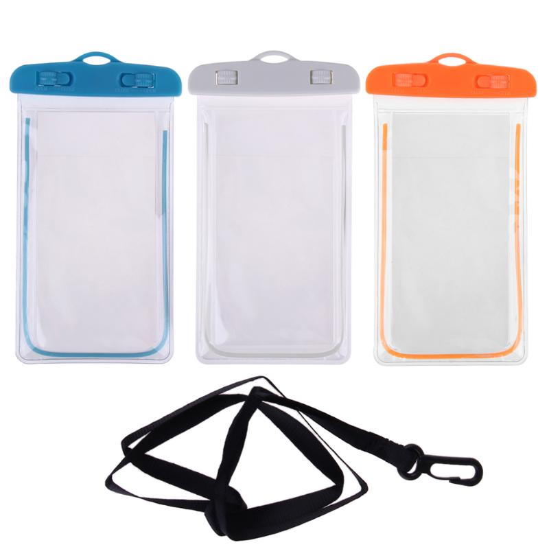 Waterproof Bag With Luminous Underwater Pouch Phone Case For Iphone 6 6s 7