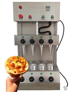 Automatic pizza cone machine and cone pizza oven