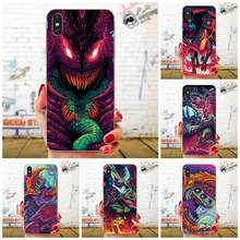 สำหรับ Apple iPhone 11 Pro X XS Max XR 4 4S 5 5C 5S SE 6 6S 7 8 Plus Unique Shell โปร่งใส TPU Hyper Beast(China)