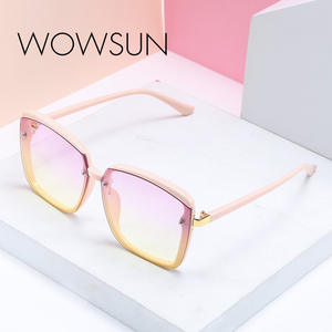Trend Sunglasses Shoot WOWSUN New-Fashion Colorful Brand Luxury Street Small A250 Fragrance