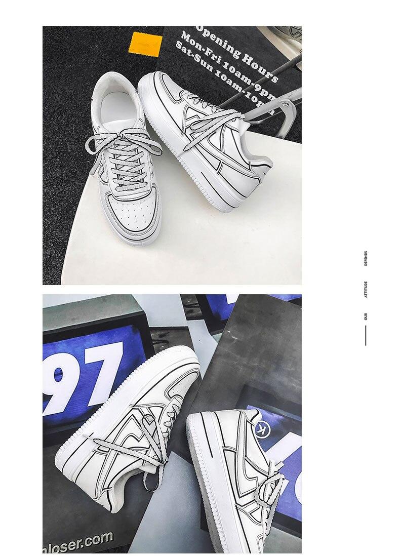 confortável esporte tênis de corrida branco antiderrapante masculino sapatos casuais