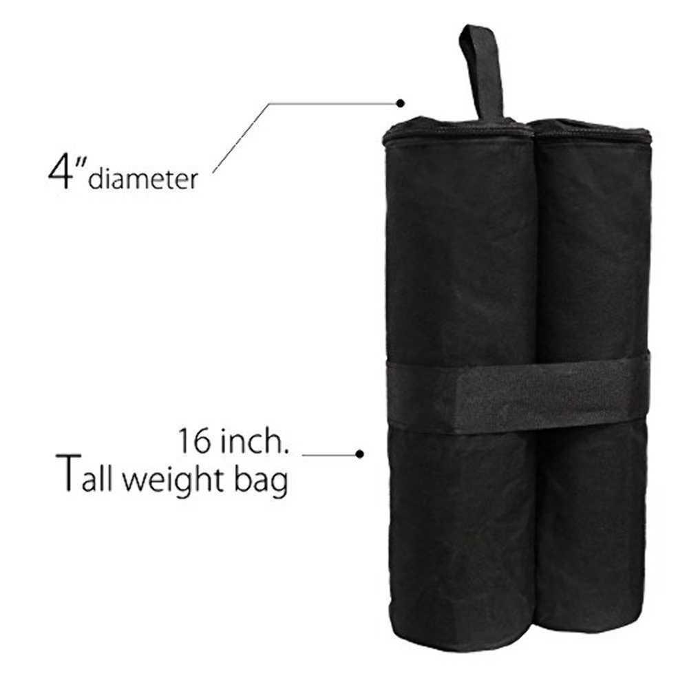 Kamp çadırı kum torbası güneşlik gölgelik bacak ağırlık Gazebo Oxford rüzgar geçirmez sabitleme kum torbası dış mekan çadırları aksesuarları Dropshipping
