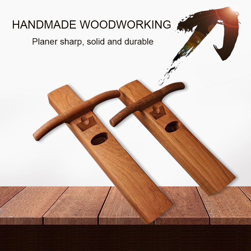 Woodworking manual planer Chinese classic pear wood fader planing wood flat seam hand tools mini planer