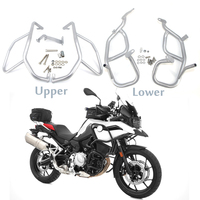 For BMW F750GS F850GS F 750 850 GS 2018 2019 Motorcycle Engine Guard Crash Tank Bar Bumper Upper Lower Fairing Frame Protector