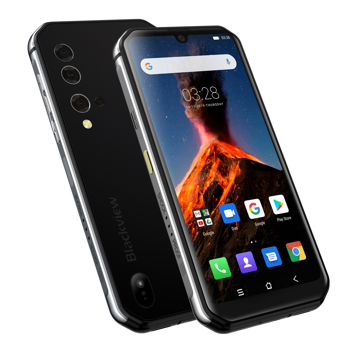 Image 5 - Blackview BV9900 Helio P90 Octa Core 8GB 256GB 5.84 FHD+ IP68 Waterproof Rugged Smartphone 4380mAh 48MP Quad Rear Camera PhoneCellphones   -
