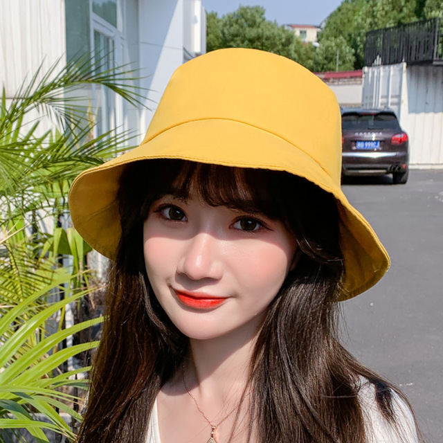 2020 Fashion Fisherman Hat with Face Shield For Women Removable Clear Full Face Shield Anti Saliva Outdoor Sun Hat Bucket Hats 5
