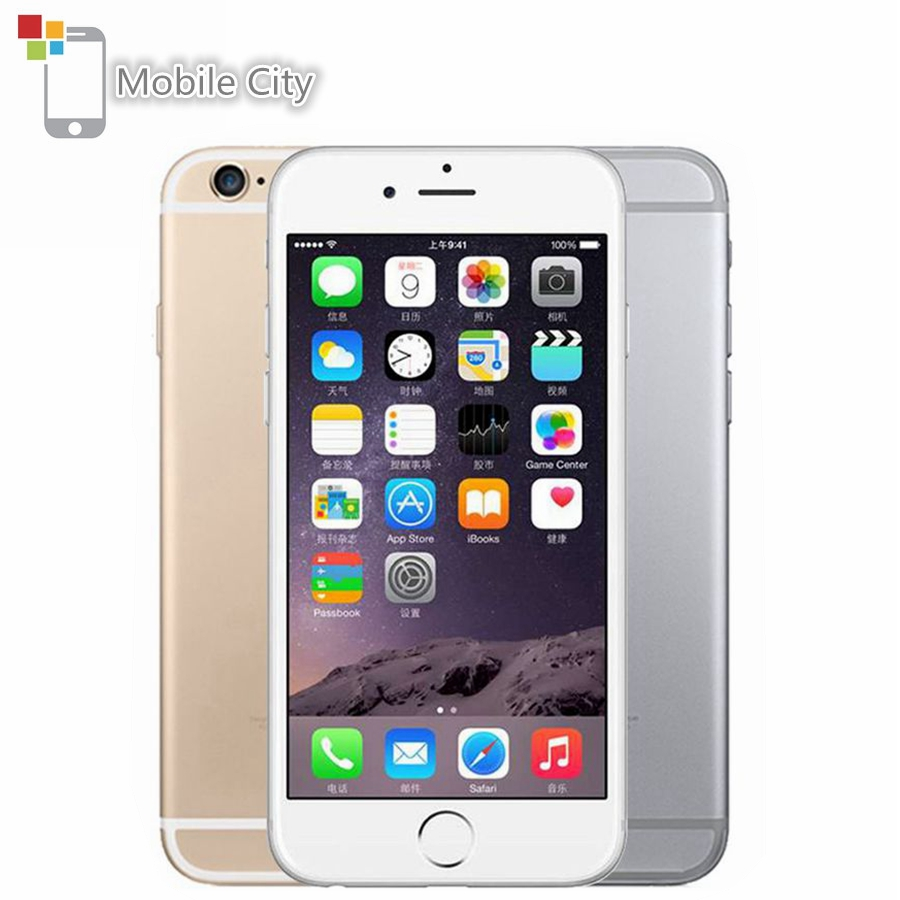 "Original Apple iPhone 6 IOS Smartphone Dual Core 4,7 ""1 GB RAM 16/64/128GB ROM 8.0MP Fingerprint 4G LTE Entsperrt Handy"