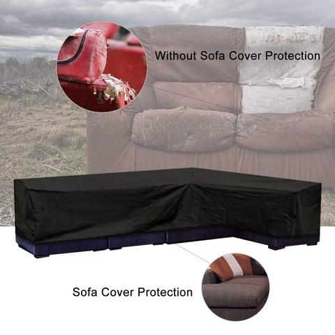 patio sofa mobiliario sofa capa com impermeavel