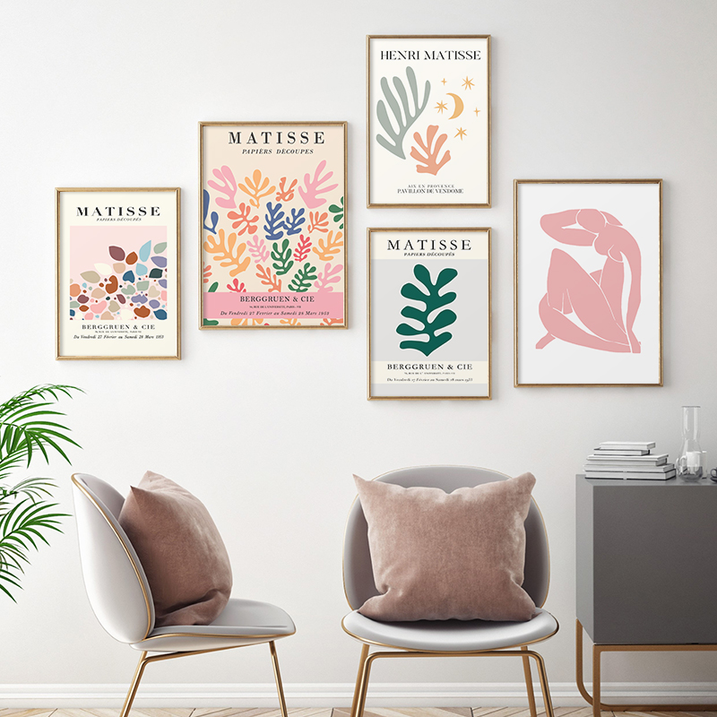 Henri Matisse Abstract Body Exhibition Poster And Print Wall Art Canvas Painting Pictures Modern Gallery Home Women Office Decor