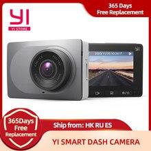 YI смарт-dash Камера 1080 P видео Регистраторы Видеорегистраторы для автомобилей Wi-Fi Full HD Cam Ночное видение 2,7
