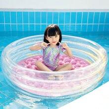 Inflável sequin piscina crianças grande rosa menina redonda piscina flutuante almofada de ar banheira