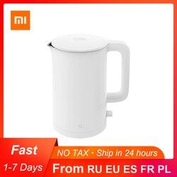 Original Xiaomi Mijia Electric Kettle 1A Fast Hot boiling Stainless Intelligent Temperature Control Anti-Overheat Kettle Tea Pot