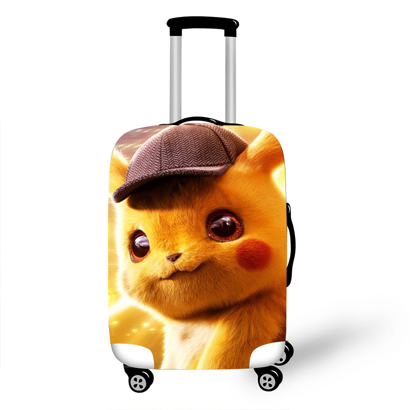 Pokemon Luggage Cover Elastic Luggage Protective Covers For 18-32 Inch Suitcase Trolley Case Dust Cover Travel Accessories