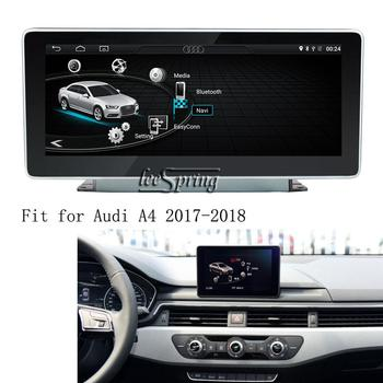 10.25 inch Android 8.1 Car media player for Audi A4 2017-2018 GPS Navigation Upgraded Original Car Screen image