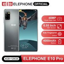 Pre Sale E10 Pro Mobile Phones 4GB 128GB 48MP Quad Rear Cameras Octa Core 6.55 i