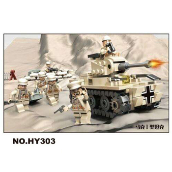 World war Blitzkrieg strikes North Africa Mark I Tank  Armour heavy artillery batisbricks block ww2 germany army minifigs toys pre order general quality version 135 world war ii germany twelfth armored division resin toys