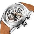 Mode Uhr Silber & Goldene Luxus Hohl Stahl Uhren Männer Unisex Hombre Quarz armbanduhr Uhr Retro Relogio-in Quarz-Uhren aus Uhren bei