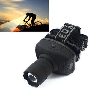 Image 4 - 2000 lumen LED Scheinwerfer Leistungsstarke Taschenlampe Frontal Laterne Zoomable Scheinwerfer Taschenlampe Licht Zu Bike Für Camping Jagd Angeln