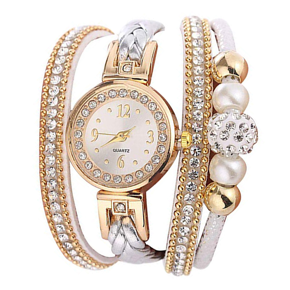 Multi Layer Bracelet Quartz Watch Women Watches