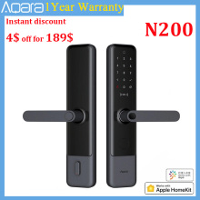 Aqara N200 Smart Door Lock Fingerprint Bluetooth Password NFC Unlock Smart Linkage With