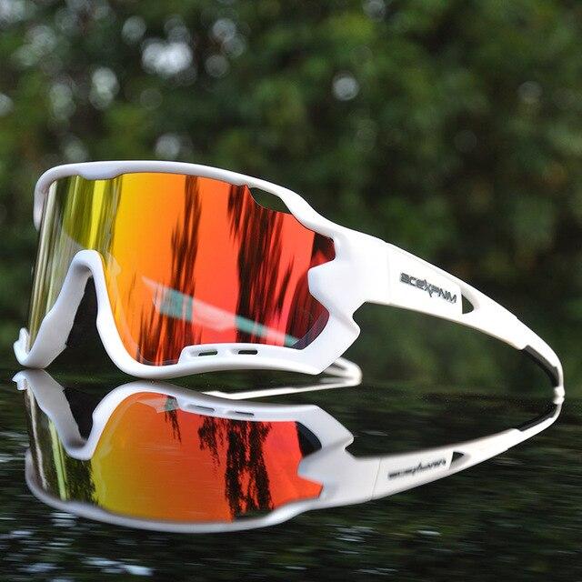 2020 Brand Outdoor Sports Cycling Glasses Men Cycling Goggles Mountain Road Bike Cycling Eyewear UV400 Cycling Sunglasses