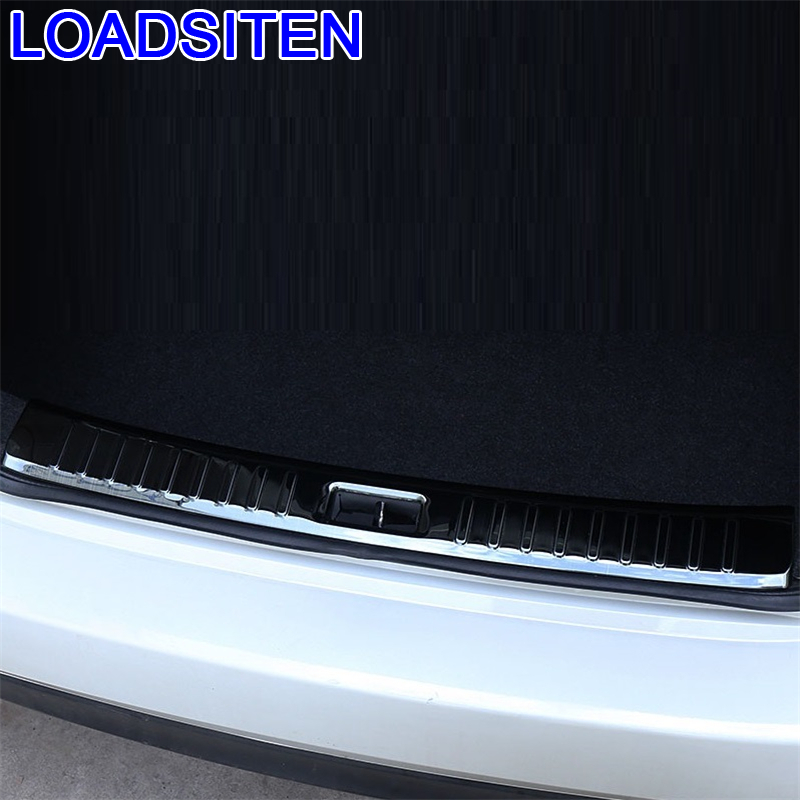 Car Chromium Auto Automovil Trunk Rear Panels Foot Pedal Exterior Covers Modification Bright Sequins 16 17 18 FOR Nissan Sylphy