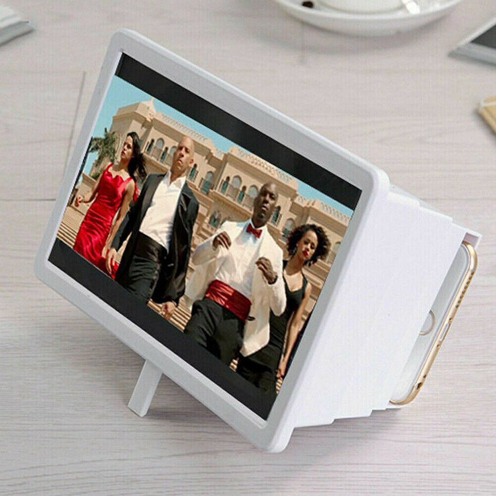Portable Universal 3D Screen Amplifier Stand Holder Retractable Magnifier Mobile Phone Screen Magnifier Video Expander