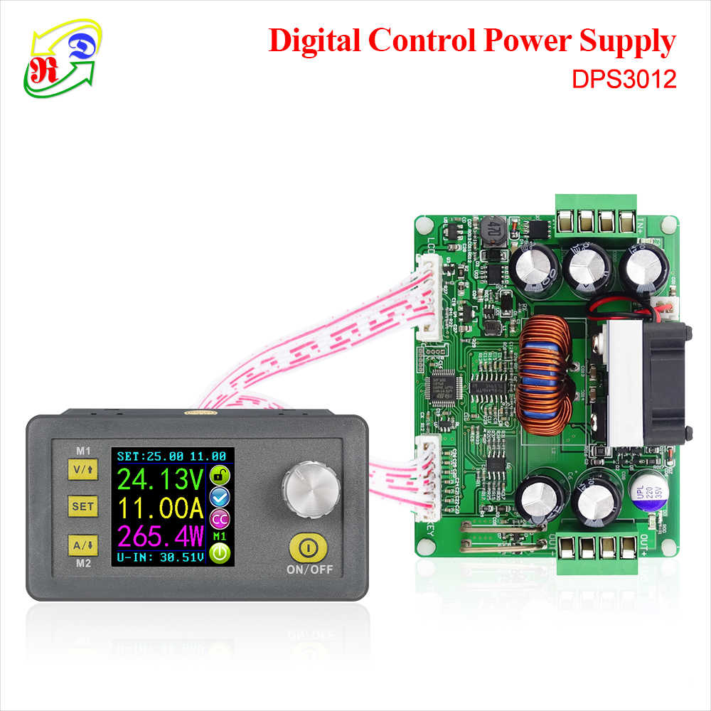 Rd DPS3012 Constante Spanning Stroom Step-Down Programmeerbare Power Supply Module Buck Voltage Converter Lcd Voltmeter 32V 12A