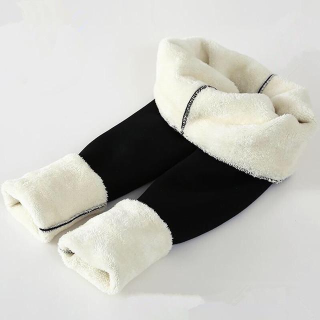 Wool Fleece Leggings
